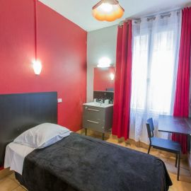 chambre simple hipotel paris 20 ème menilmontant